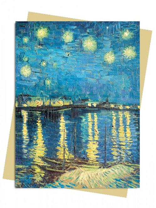 Van Gogh: Starry Night Greeting Card