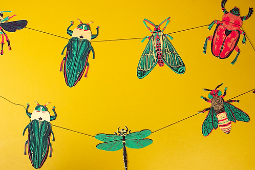 Insect Garland