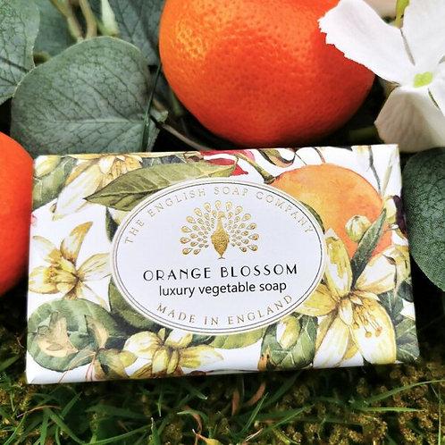 English Soap Company Orange Blossom  Vintage Soap