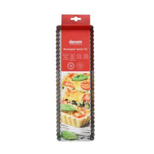 Non-Stick Rectangular Flan Pan