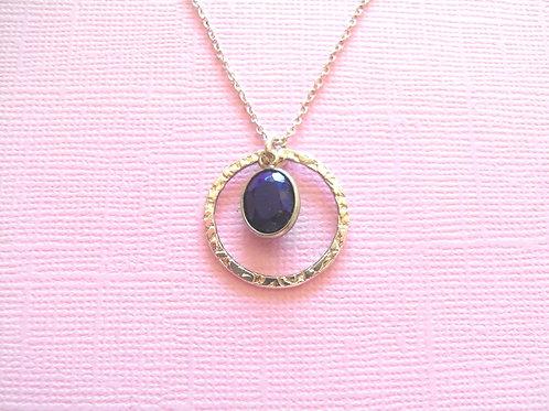 Siren Silver Lapis Necklace