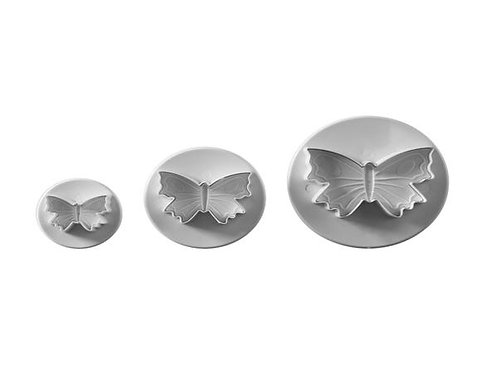 Set Of 3 Butterfly Plunger Cutters