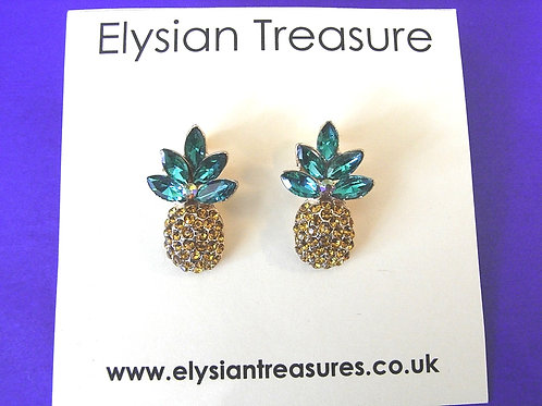 Pineapple Cocktail Earrings