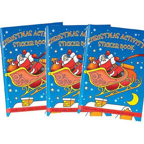 Christmas Activity Sticker Books
