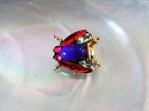 Annie Sherburne Red Wing Bee Brooch Design 2