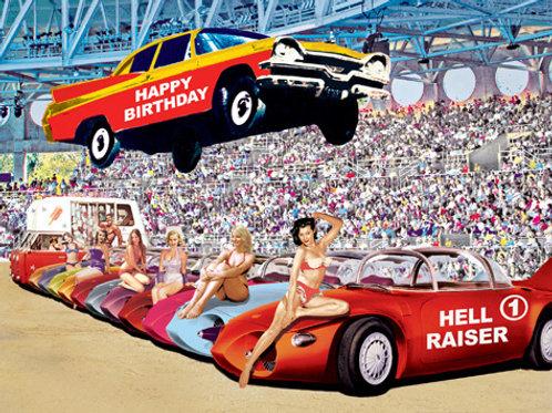 Happy Birthday 'Hell Raiser' Card