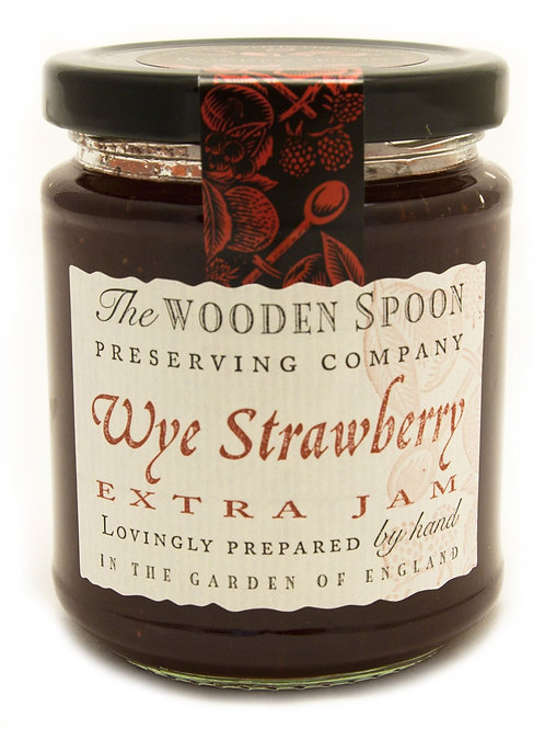Wooden Spoon Strawberry Jam 340g