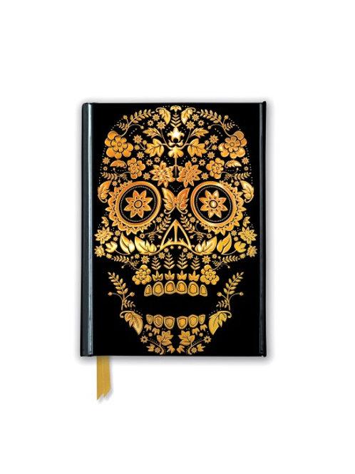 Gold Sugar Skull (Foiled Pocket Journal)