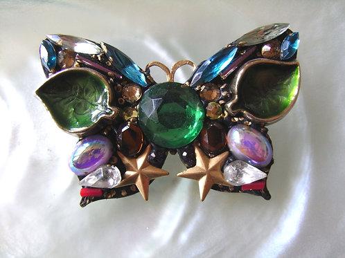 Annie Sherburne Green Butterfly Brooch