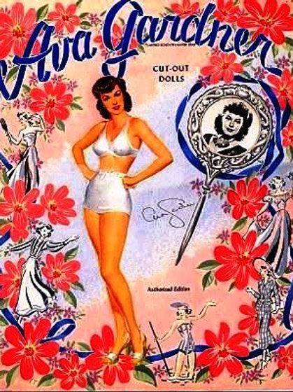 Ava Vintage Image Card