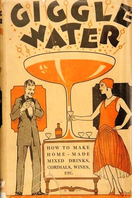 Giggle Water Vintage Image Card
