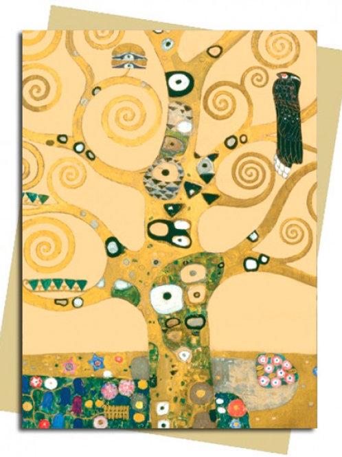 Tree of Life (Klimt) Greeting Card