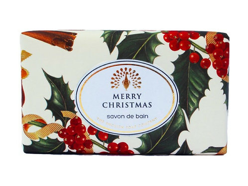Winter Berries  Festive Wrapped Soap