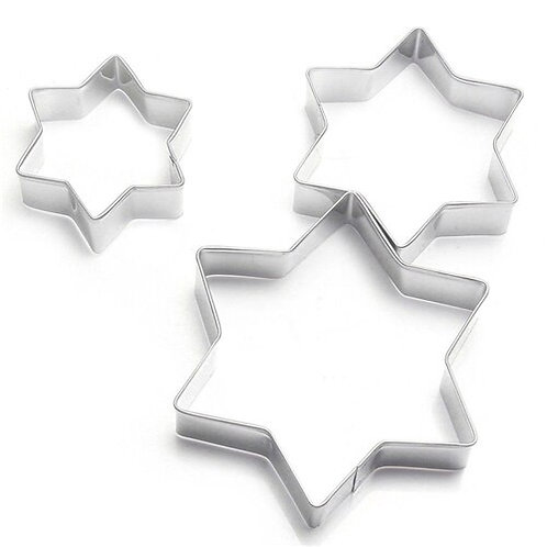 Star Cookie Cutter Trio