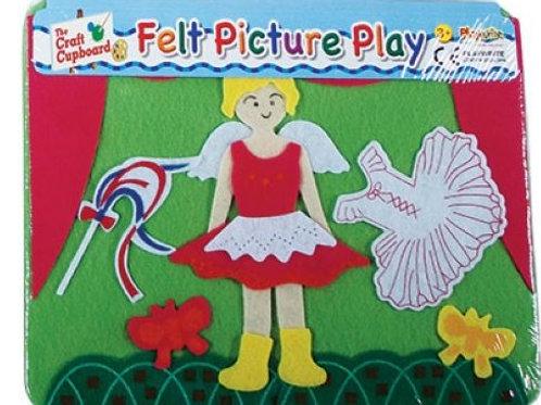 Felt Picture Play - Dancer