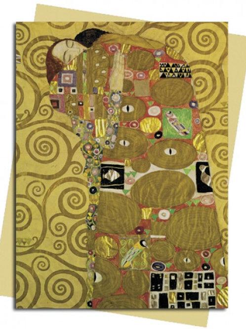 Fulfilment (Klimt) Greeting Card