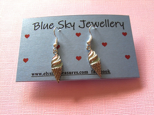 Blue Sky Ice Cream Jewellery