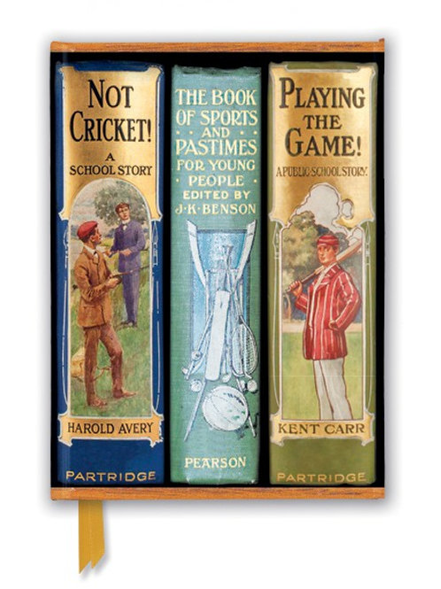 Bodleian Libraries: Book Spines Boys Sports (Foiled Journal)