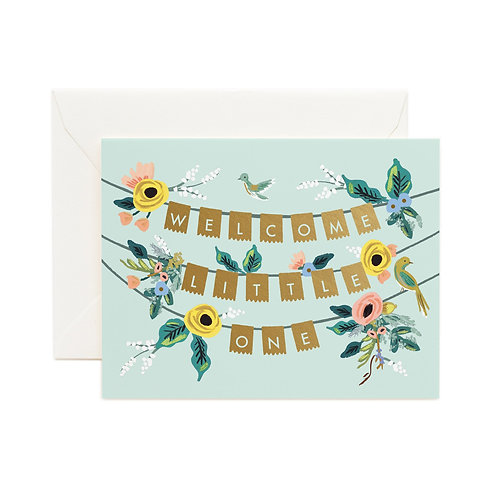 Rifle & Co 'Welcome To The World' Card