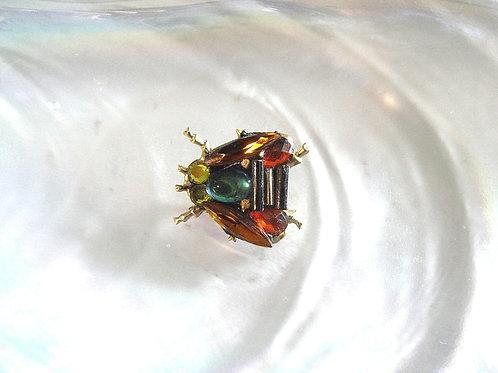 Annie Sherburne Amber Wing Bee Brooch