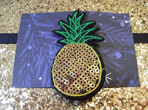 Dolly May Gold Pineapple Brooch