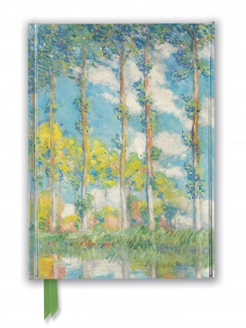 Claude Monet: The Poplars (Foiled Journal)
