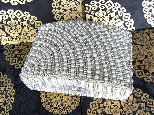 Pearl Embellished Jewellery Box