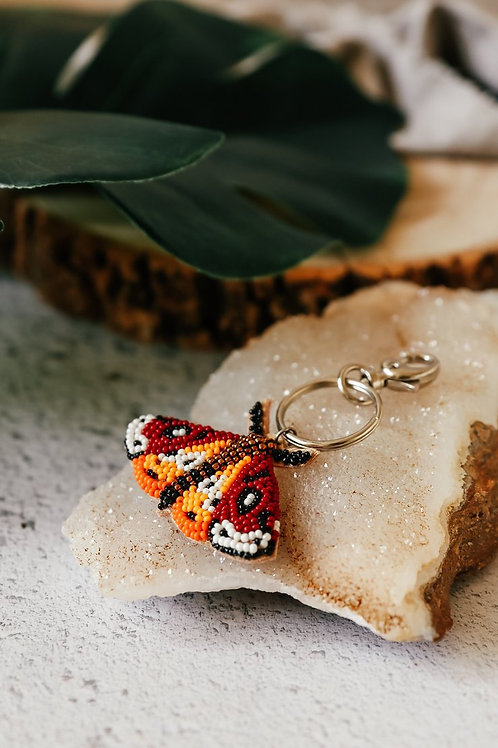 My Doris Moth Keyring