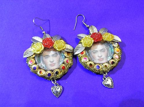 Frida Winter Flower Earrings