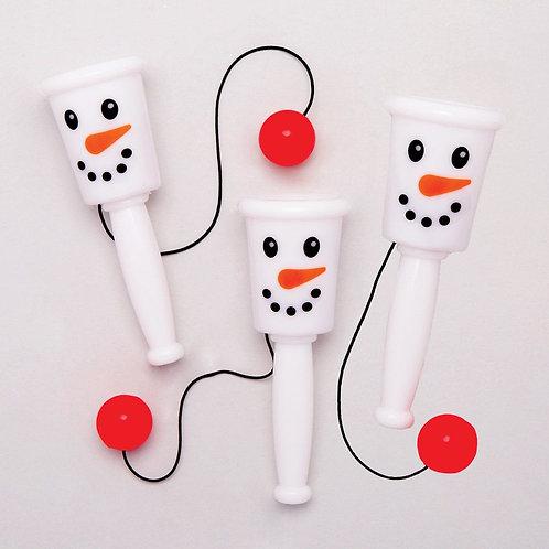 Snowman Catch-a-Ball Game