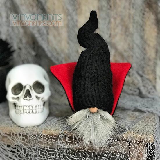 Mini Vampire Gnome