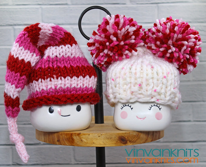 Valentine's Day Marshmallow Mug Hats