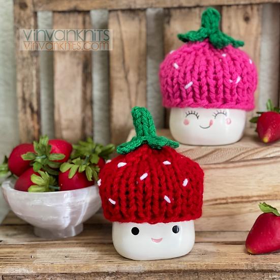 Strawberry Marshmallow Mug Hat