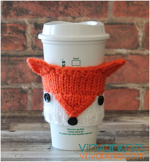 Fox Coffee Cozy