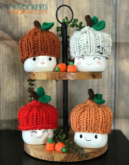 Pumpkin Marshmallow Mug Hat