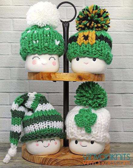 St. Patrick's Day Marshmallow Mug Hats
