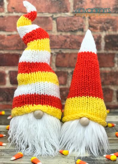 Candy Corn Gnomes