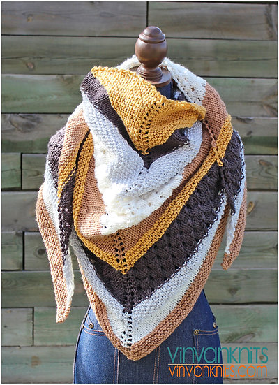 Vail Triangle Wrap - 5 colors