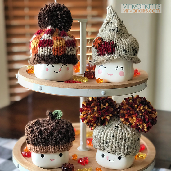 Fall Marshmallow Mug Hats