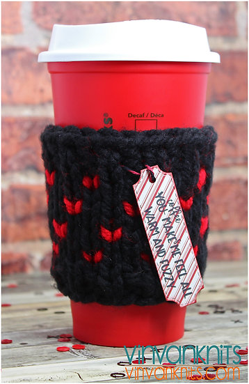 In Love Coffee Cozy