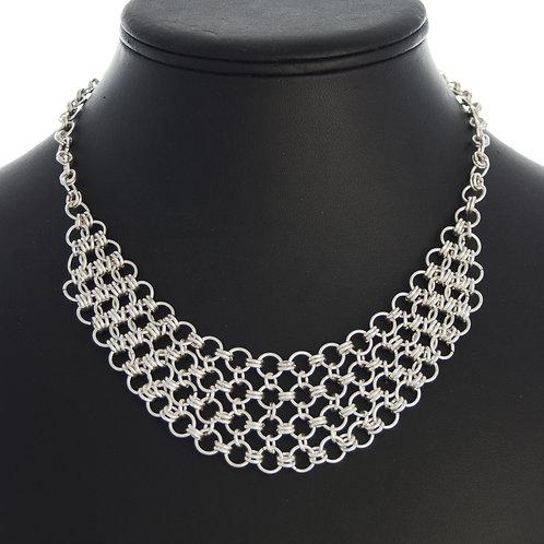 Silver Link Necklace