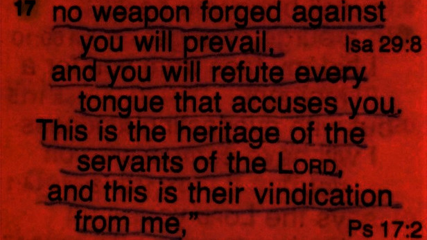 no weapon forged against you will prevail