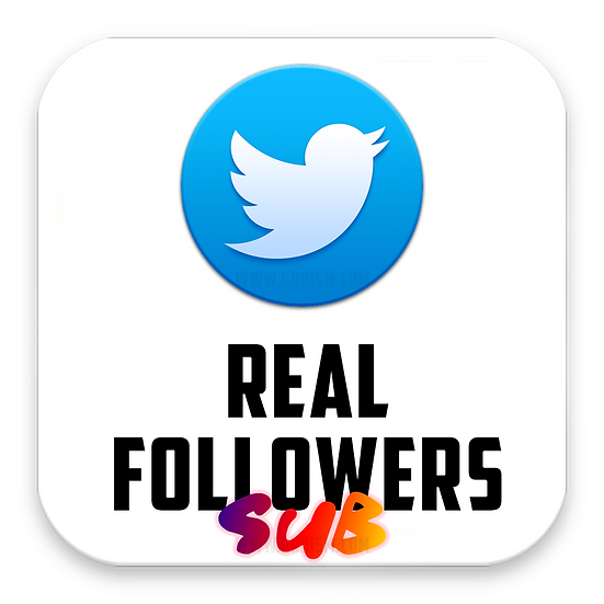 Real Twitter Followers Subscription