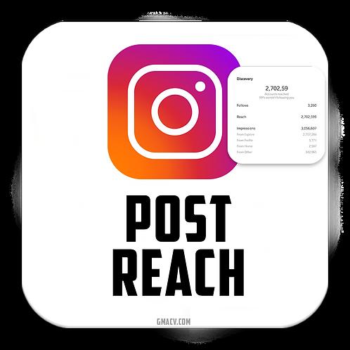 Instagram Post Reach