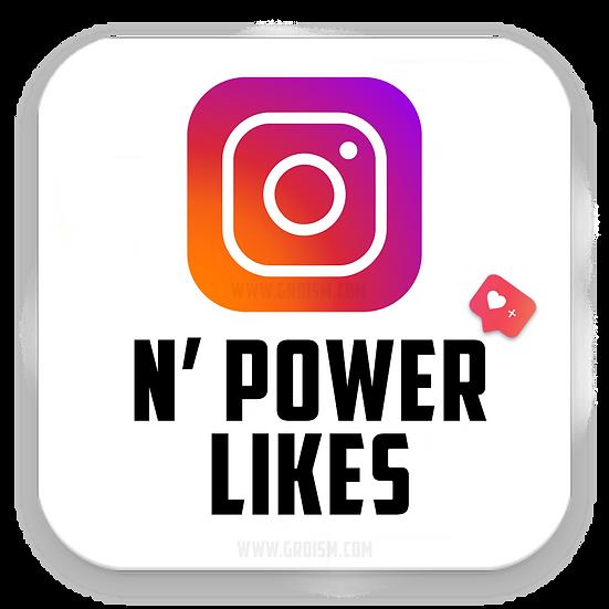 Instagram Normal Power likes