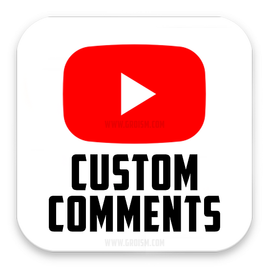 YouTube Real Custom Comments