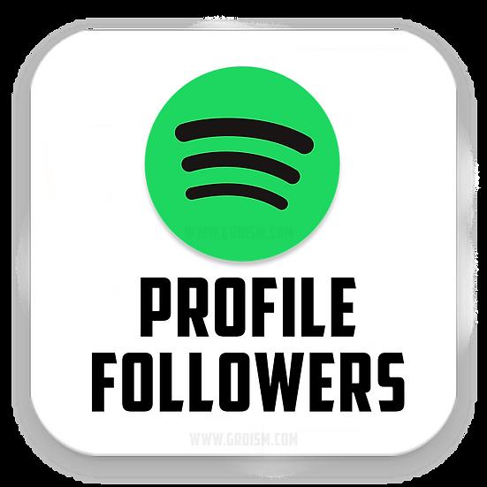 Spotify Profile Followers