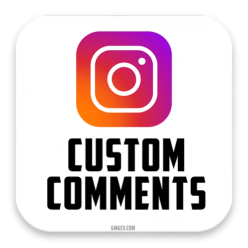 Instagram Custom Comments