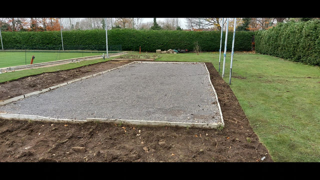 Sports Forum grant supports new Boules Pit