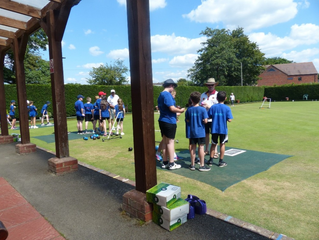 Junior section going from strength to strength for Wroughton Bowls Club
